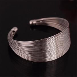 Bracelet KUNA Argent mat