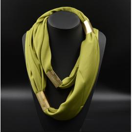Collier Foulard Trendy Vert